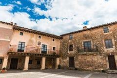 Piazza-Bürgermeister von Medinaceli, Spanien lizenzfreie stockbilder