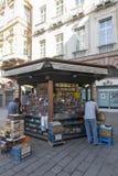 Piazza Banchi, Genova immagine stock libera da diritti