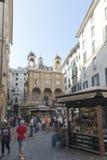 Piazza Banchi, Genua Royalty-vrije Stock Fotografie