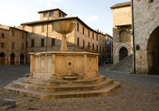 Piazza of Bevagna Stock Photos