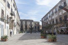 Piazza Bologni, Palermo Stock Photo