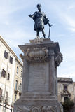 Piazza Bologni, Palermo royalty free stock photos