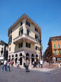 Piazza Bra, Verona, Italy Royalty Free Stock Photography
