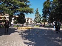 Piazza Bra in Verona stock photos