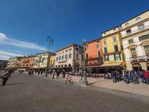 Piazza Bra in Verona stock images