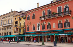 Piazza Bra, Verona, Italy Stock Photography