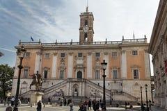 Piazza Campidoglio Royalty Free Stock Image