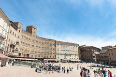 Piazza del Campo, Siena Royalty Free Stock Photo