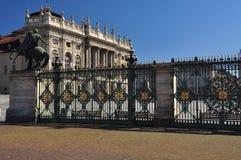 Piazza Castello, Torino, Italie Photo stock