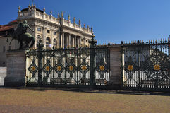 Piazza Castello, Torino, Italy Stock Photo