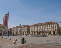 Piazza Castello Turin Stock Photo