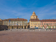 Piazza Castello Turin Royalty Free Stock Photography