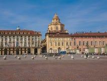 Piazza Castello Turin Stock Photos