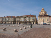 Piazza Castello Turin Royalty Free Stock Images