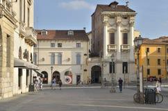 Piazza Castelo Stockbild