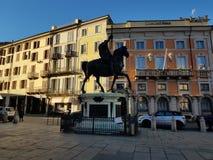 Piazza cavally arkivfoton