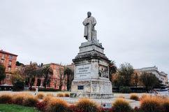 Piazza Cavour, ANCONA, ITALIA fotografia stock libera da diritti