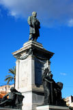 Piazza Cavour with Cavour monument in Rome, Italy.  Stock Photography
