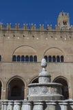 Piazza Cavour a Rimini Fotografia Stock