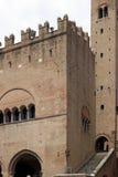 Piazza Cavour Rimini di dell'Arengo di Palazzo Immagine Stock