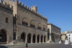 Piazza Cavour - Rimini - Italia Fotografie Stock