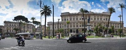 Piazza Cavour, Roma Immagine Stock