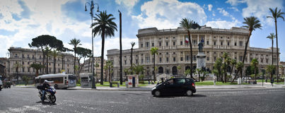 Piazza Cavour, Rome Stock Image