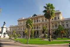 Piazza Cavour in Rome. Royalty Free Stock Images