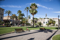 Piazza Cavour, Rome Royalty Free Stock Photos