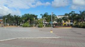 Piazza Central Park Siguatepeque, Honduras CA Stockbild