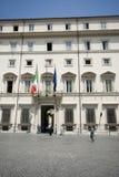 Piazza Colonna Rome Italy Royalty Free Stock Photo