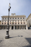 Piazza colonna rome italy Stock Photography