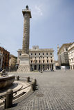 Piazza colonna rome italy Stock Images