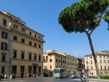 Piazza d'Aracoeli in Rome Stock Foto