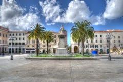 Piazza d'Italia in hdr tone Stock Photo