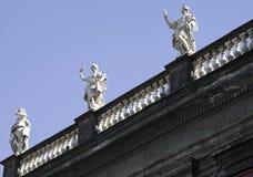 Piazza Dante Stock Image