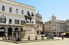 Piazza De Ferrari Foto de archivo