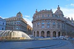Piazza De Ferrari Stock Image