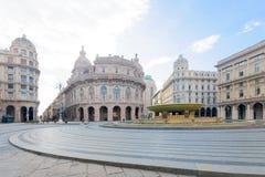 Piazza de Ferrari, Genoa Royalty Free Stock Photography