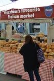 Piazza de gebeurtenis van Italië 2017 in Horsham, Engeland Stock Foto