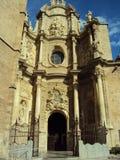 Piazza de la Virgen Valencias España Stockbilder