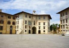 Piazza dei Cavalieri Pisa Włochy obraz royalty free