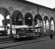Piazza dei Ciompi, Florence. View of historical flea market of Piazza dei Ciompi in Florence, Italy Stock Photos