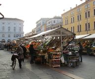 Piazza dei Frutti Royalty Free Stock Photography