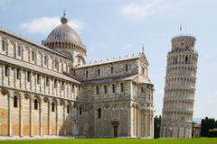 Piazza dei Miracoli Royalty Free Stock Photos