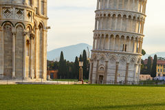Piazza dei miracoli detail Royalty Free Stock Images