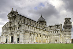 Piazza dei Miracoli in HDR Stock Photo