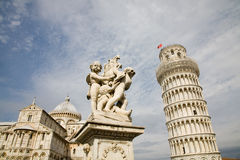 Piazza dei miracoli, Pisa Royalty Free Stock Images
