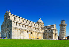 Piazza dei Miracoli in Pisa Royalty Free Stock Photography