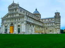 Piazza dei miracoli pisa Royalty Free Stock Photos